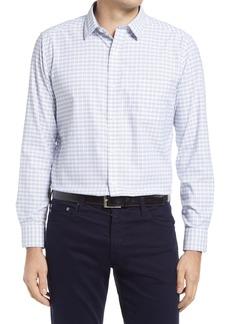 Men's Johnston & Murphy Xc4 Check Button-Up Shirt