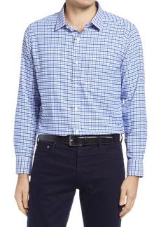 Men's Johnston & Murphy Xc4 Gingham Button-Up Shirt