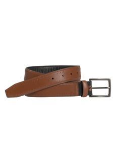 Men's Johnston & Murphy Xc4 Perforated Leather Belt