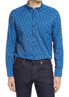 Men's Johnston & Murphy Xc4 Performance Button-Down Shirt