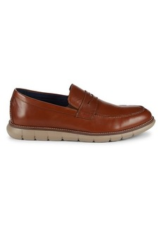 Johnston & Murphy Milson Leather Penny Loafers