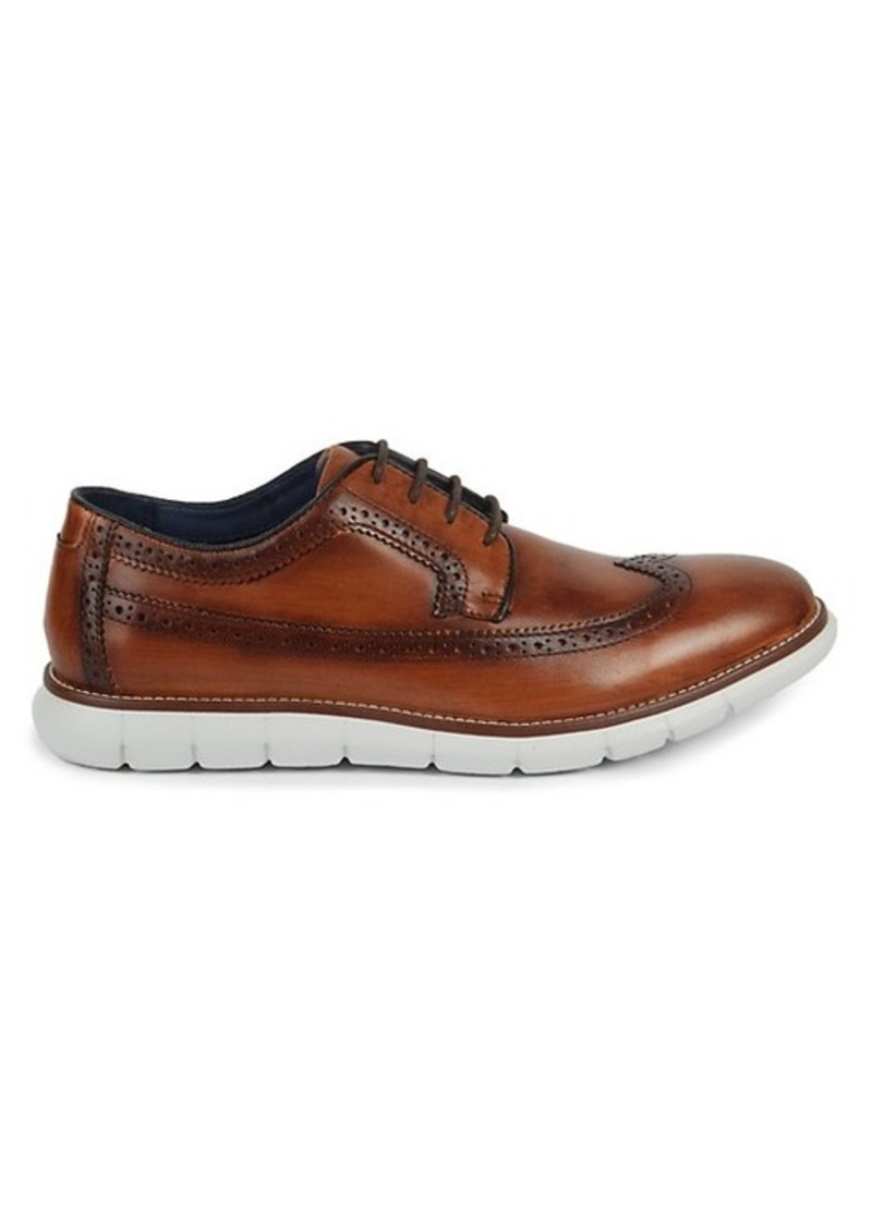 Johnston & Murphy Milson Lwing Leather Oxfords