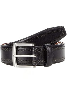 Johnston & Murphy Perfed Dress Belt