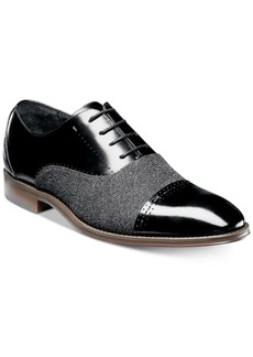 Stacy Adams Stacy Adam's Men's Barrington Cap-Toe Leather Oxfords Men's Shoes