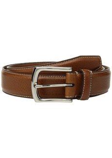 Johnston & Murphy Topstitch Belt