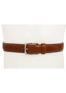 Johnston & Murphy Topstitched Belt