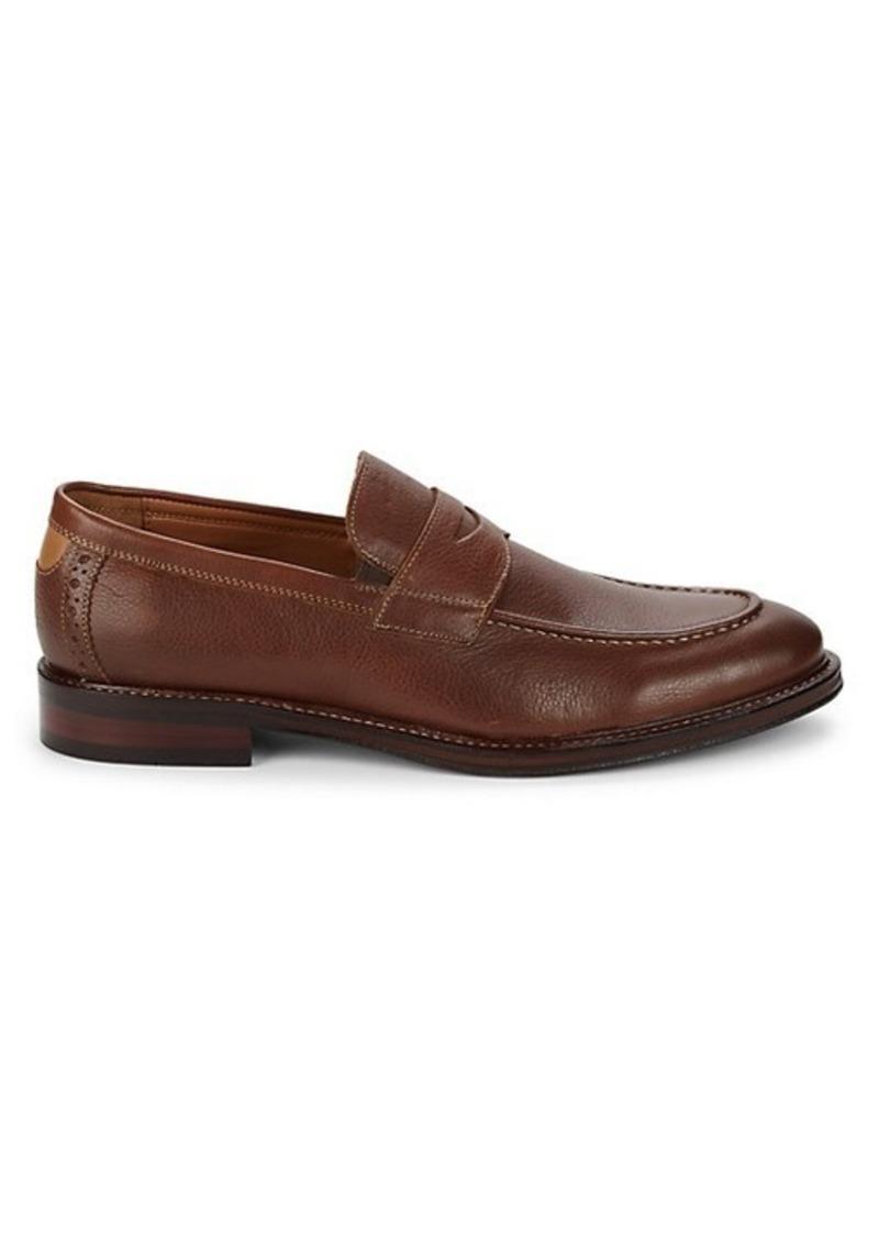 Johnston & Murphy Warner Leather Penny Loafers