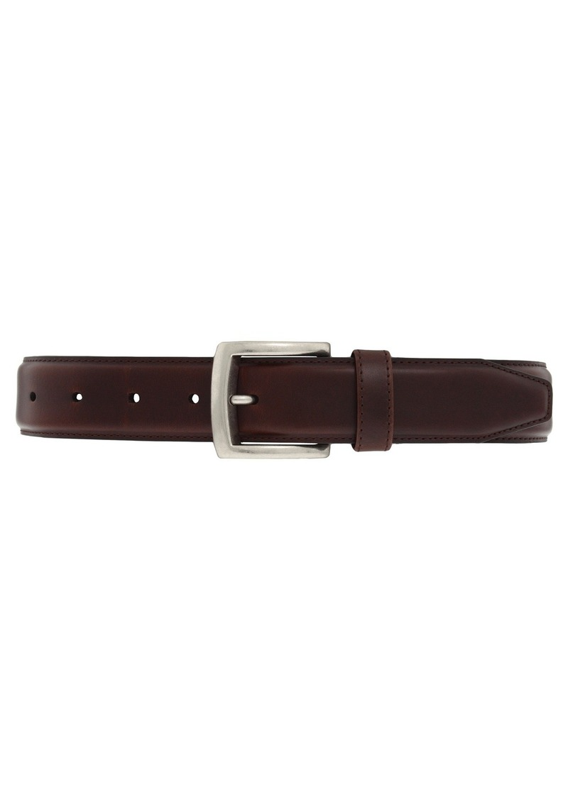 Johnston & Murphy Wax Veal Belt