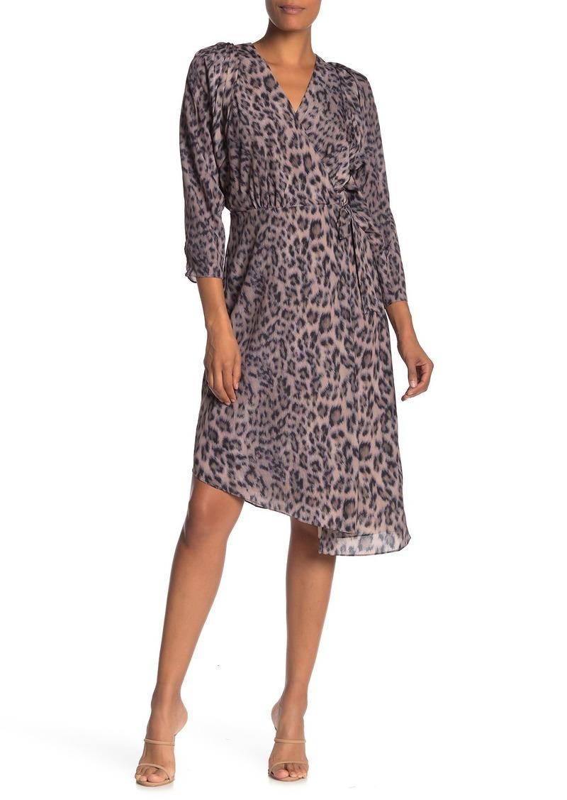 Joie Acantha Asymmetrical Wrap Dress