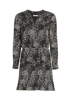 Joie Acey Leopard Print Dress