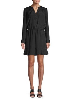 Joie Acey Long-Sleeve A-line Dress
