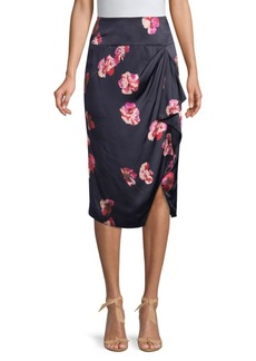 Joie Alphina Floral Print Skirt