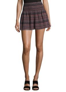 Joie Alphosine Geo Stripe Mini Skirt
