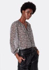 Joie Amissa Long Sleeve Silk Top