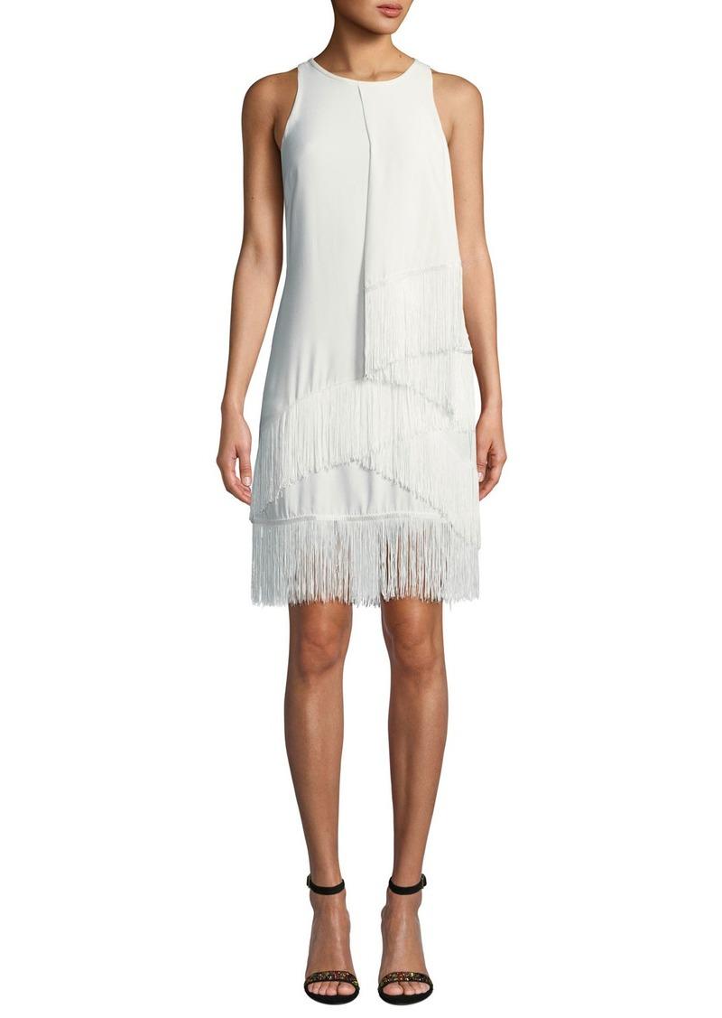 Joie Amiyah Fringe Sheath Dress
