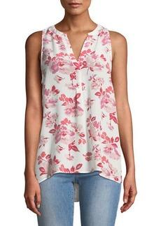 Joie Aruna Floral Silk Tank