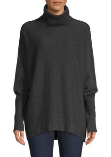 Joie Aydin Oversized Wool & Cashmere Turtleneck Sweater