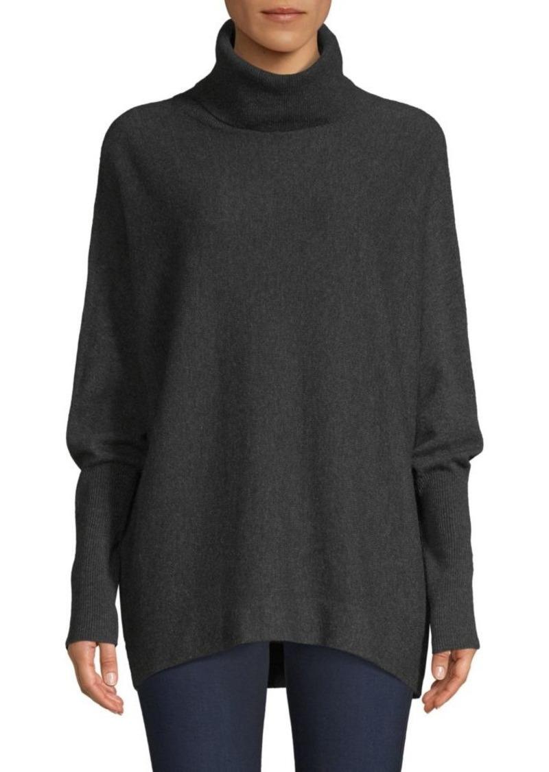 Joie Aydin Oversized Wool & Cashmere Turtleneck Sweater