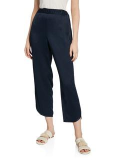 Joie Baduna Satin Cropped Pants