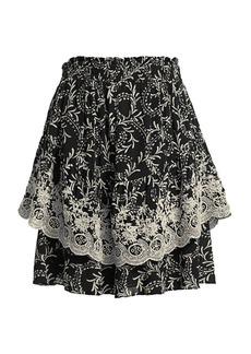 Joie Baylee Printed Skirt