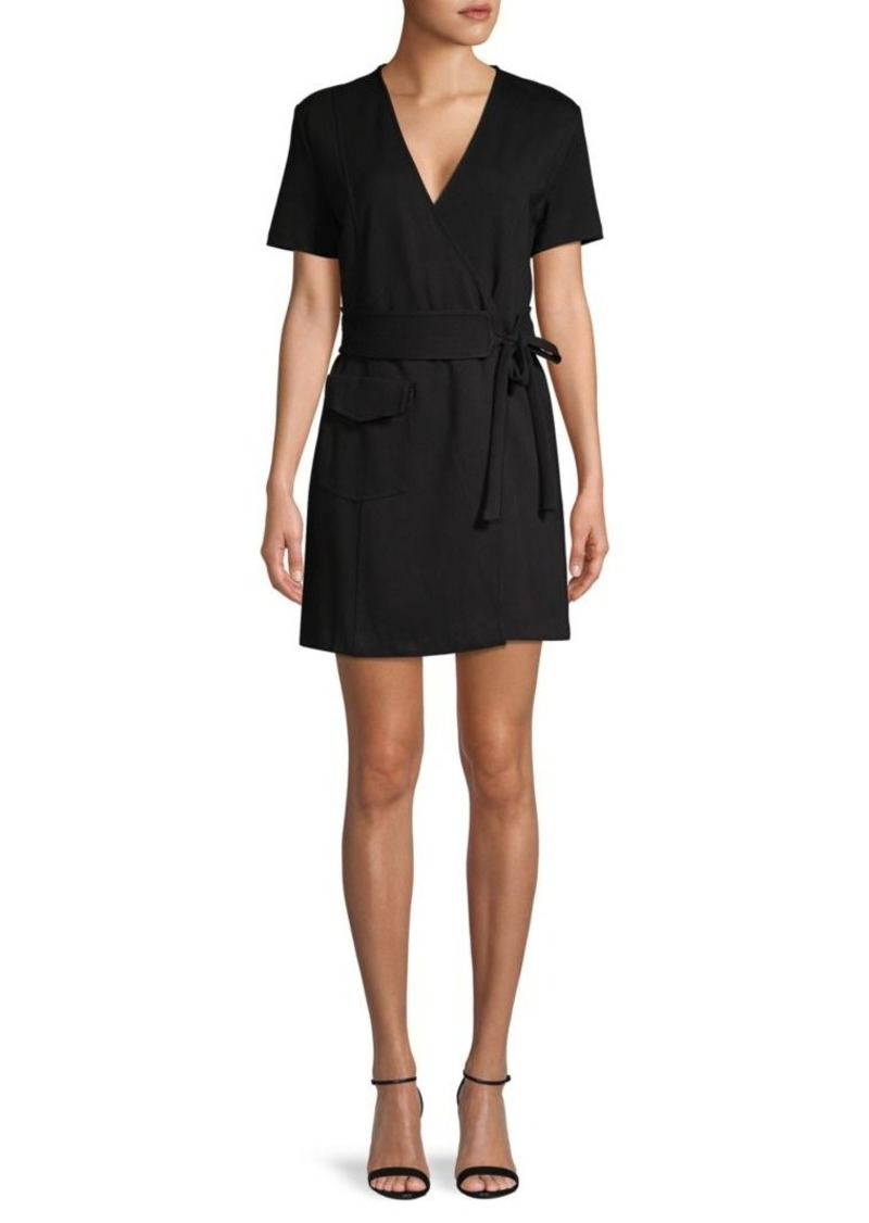Joie Belted Wrap Dress