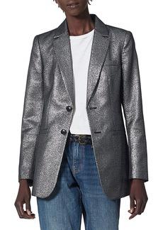 Joie Benjy Metallic Blazer