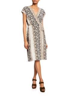 Joie Bethwyn C Printed Wrap Dress