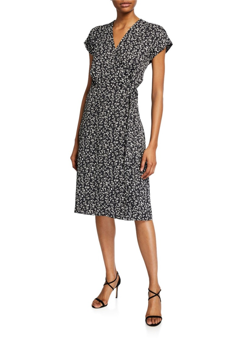 Joie Bethwyn Ditsy Floral Wrap Dress