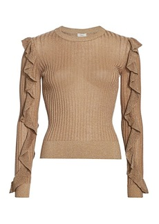 Joie Beza Shimmer Knit Sweater