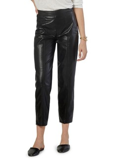 Joie Bianca Faux Leather Cropped Pants
