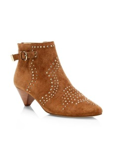 Joie Bickson Studded Suede Booties