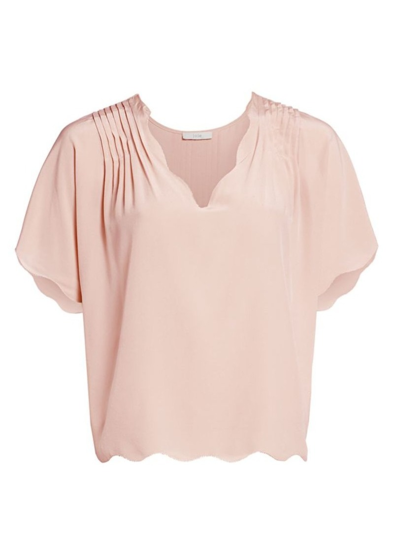 Joie Binna Silk V-Neck Blouse