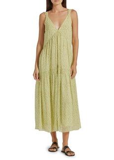 Joie Bondi V-neck Maxi Dress