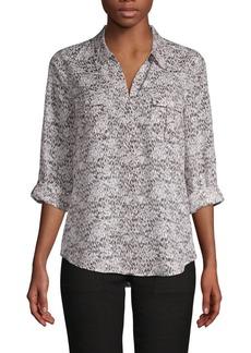 Joie Booker Abstract-Print Shirt