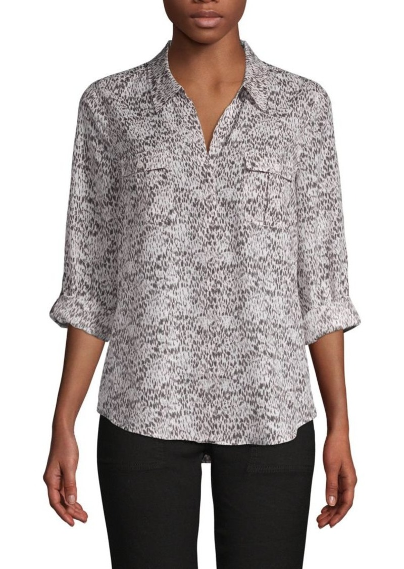Joie Booker Abstract-Print Shirt