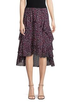 Joie Brigida High-Low Ruffle Skirt