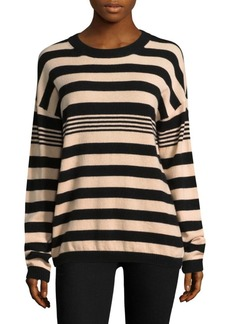 Joie Bryce Striped Cashmere Sweater