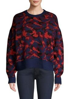Joie Brycen Camo Wool Sweater
