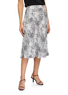 Joie Brystal Printed Midi Skirt