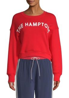 Joie Caleigh B Cropped Sweatshirt