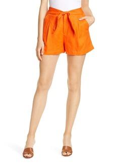 Joie Carden Tie Waist Shorts