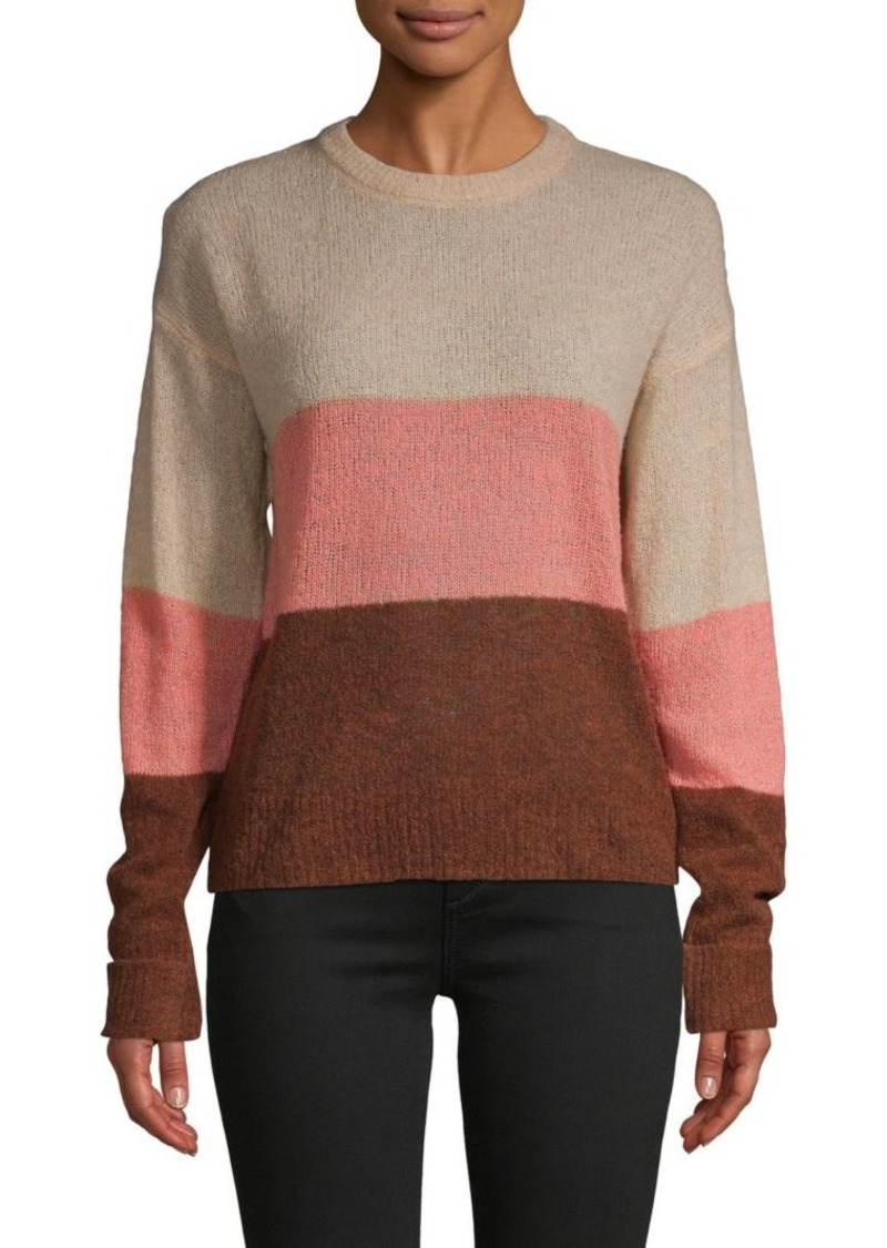 Joie Colorblock Wool-Blend Sweater