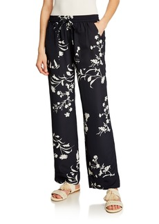 Joie Daltona Floral-Print Relaxed Pants