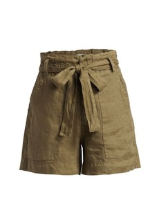 Joie Daynna Linen Paperbag Shorts