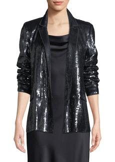 Joie Diandra Sequin Tuxedo Jacket