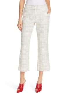 Joie Dicra Crop Tweed Trousers
