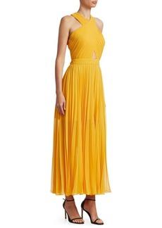 Elenita Pleated Gown