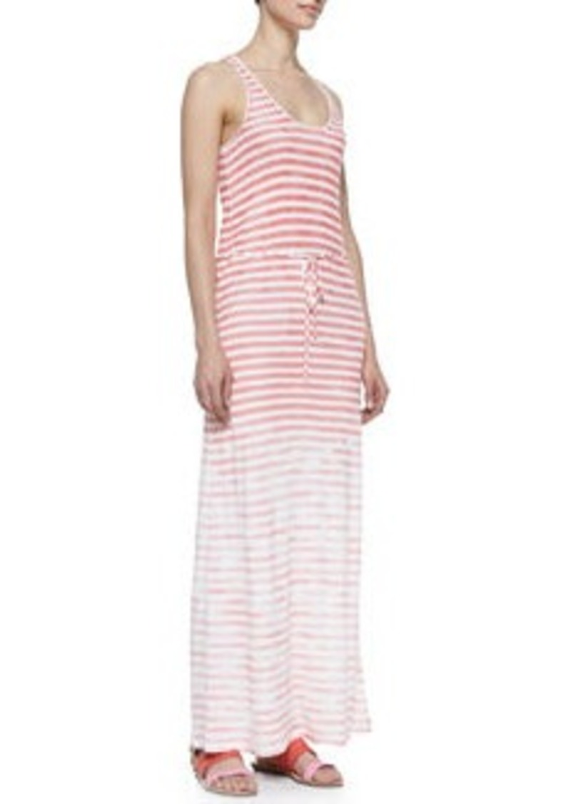 Joie Emilia Sleeveless Stripe Maxi Dress   Emilia Sleeveless Stripe Maxi Dress