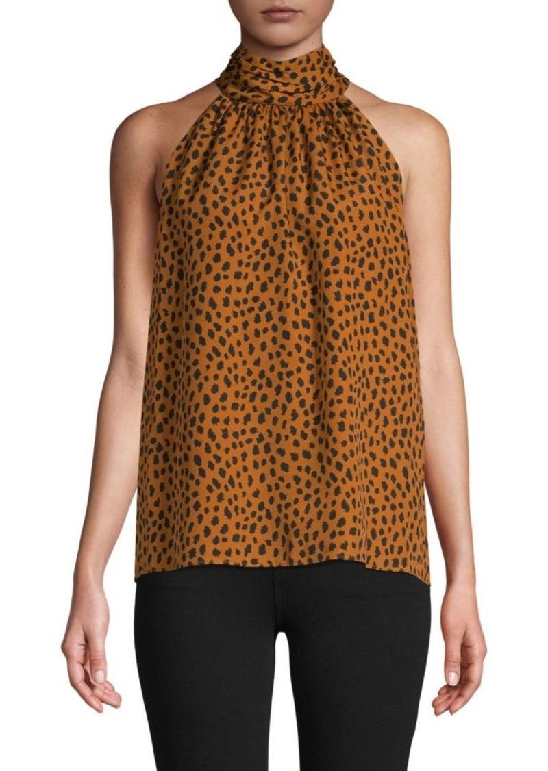 Joie Erola Cheetah-Print Halter Top