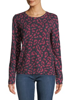 Joie Feronia B Cherry-Print Pullover Sweater